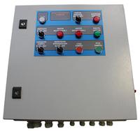 Блок управления фильтрами с двумя вентиляторами по 4кВт и включением флюидизации