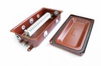 Клеммная Коробка с зажимами наборными КЗНА-16 У3 IP43 ЗЭТА