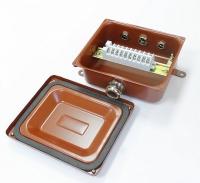 Коробка монтажная КМ 65-10 УХЛ1,5 IP65 латунный ввод ЗЭТА