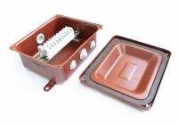 Коробка монтажная КМ 43-10 У3 IP43 ступенчатый ПВХ ввод  ЗЭТА