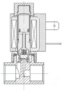 AR-1M22 -301-GBV SA11B =24 | Клапан электромагнитный (соленоидный) нормально открытый