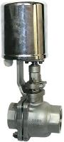 Кран шаровый с электроприводом AR-GH100-4-65-GSP GH100-40Nm