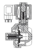 AR-YCB32-20-GBV S91H ~110 | Клапан электромагнитный (соленоидный) нормально открытый