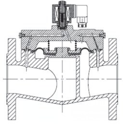 AR-YCD22F-65-FHE ASEx543 =12 | Клапан электромагнитный (соленоидный) нормально открытый