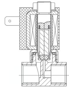 AR-YCL41-301-GBV L21H =24 | Клапан электромагнитный (соленоидный) бистабильный