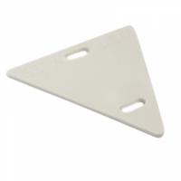 Бирка У136 кабельная маркировочная треугольная