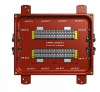 Коробка соединительная КС-40 УХЛ1,5  IP65  металлические заглушки ЗЭТА
