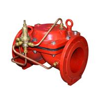 Перепускной мембранный клапан с пилотным управлением АСТА Р01/03