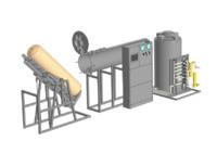 Комплекс для гидравлических испытаний металлокомпозитных газовых баллонов