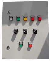 Блок управления фильтрами с двумя вентиляторами по 4кВт
