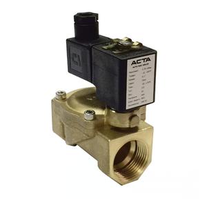 Клапаны соленоидные для компрессорных установок АСТА серии ЭСК 500-502 пилотное управление