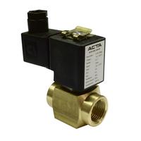 Клапаны соленоидные для компрессорных установок АСТА серии ЭСК 520-521 прямого действия