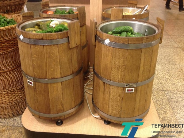 Холодильная витрина-бочка ВС-18 (18-ти литровая), ВС-40 (40-литровая)